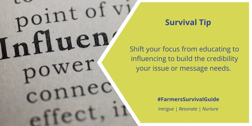 #FSGtip #CdnAg #ontag #WestCdnAg #AgTwitter   For more tips on how to influence the #farmtoconsumerconvo visit https://t.co/1Yhun5bGbL https://t.co/5yNpfN48SB