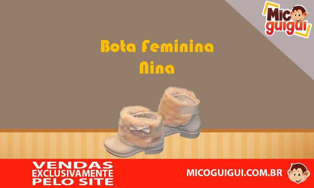 Disponível no site http://www.micoguigui.com.br/  Nas cores nude, pink rosa e preto  Da numeração 22, 24, e 26.  De R$ 99,99 por apenas R$ 82,00.  Parcelado em até 6x sem juros.  #MicoGuigui #botas #crianças #modainfantil #fashionteam #menina #fashionkids #infantil #calçadospic.twitter.com/xKSlpJM0v7