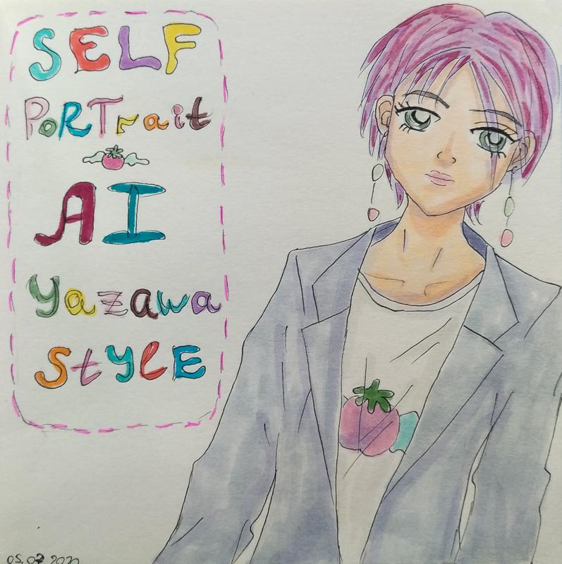 Хотя на самом деле футболки от бренда Happy Berry у меня нет ;Р *trubute to fashion sense and stories by one of my favorite mangakas #AiYazawa #矢沢あい #copicdrawing #copicmarkers #copicpic.twitter.com/E4gygdsscX