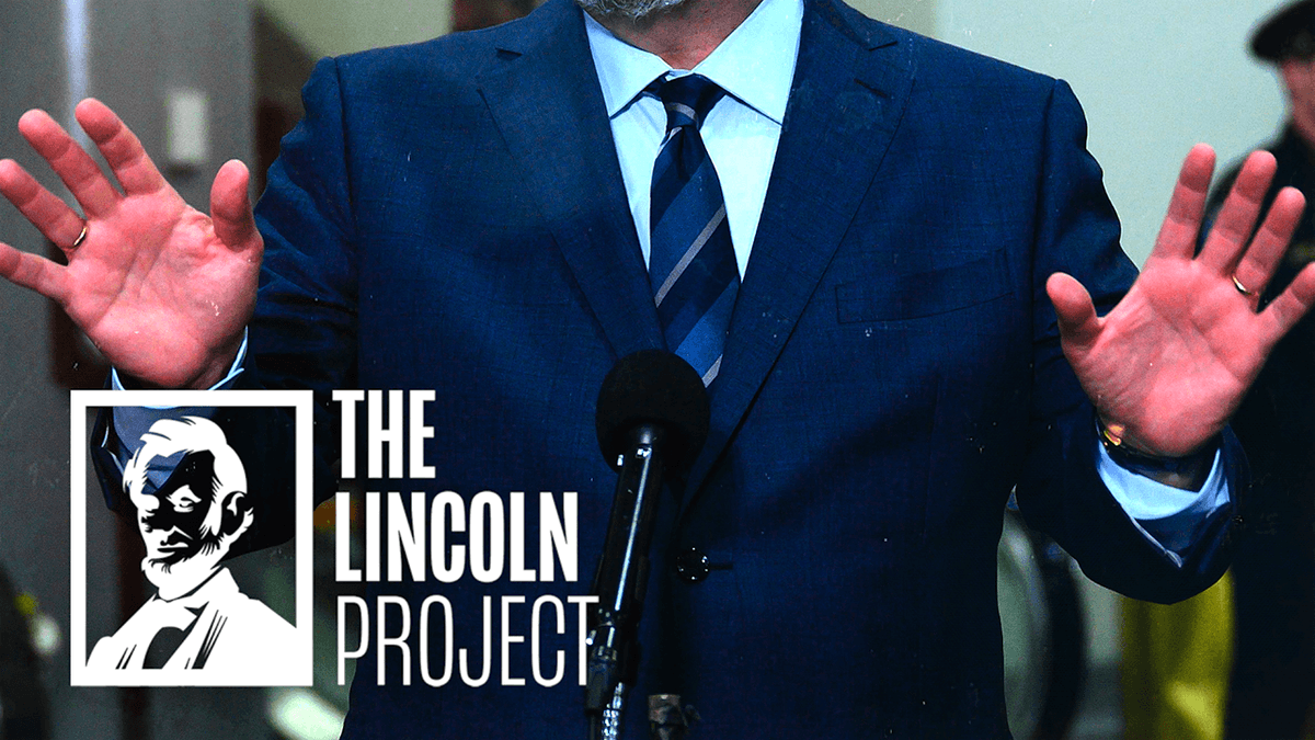 Replying to @ProjectLincoln: Learn. Their. Names.