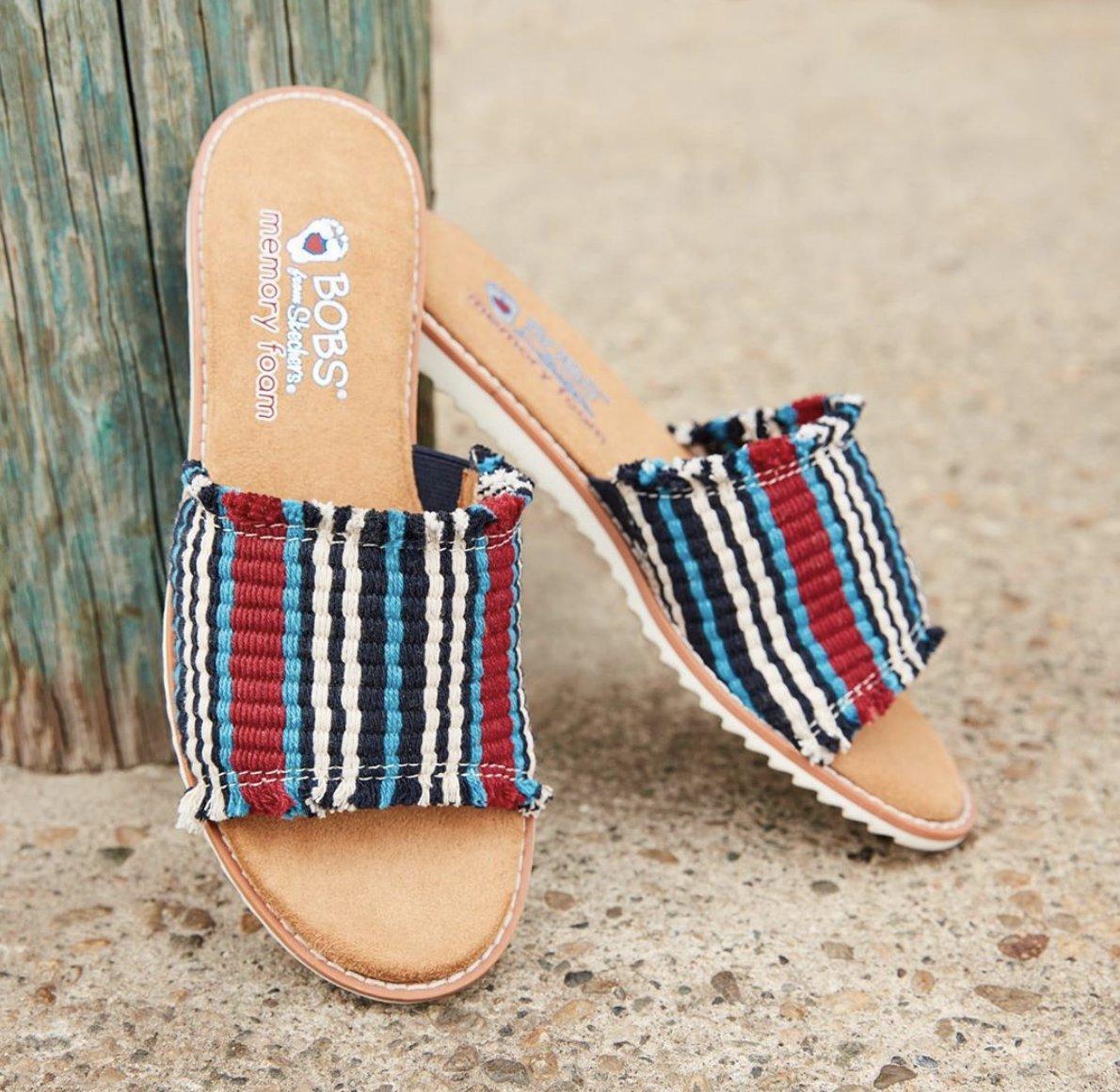 Boho chic from beach to street! 💋🌴💕 #BOBSfromSkechers #summer #sandals #Skechers  Shop sandals ⬇️ https://t.co/BYYdQOtZGy https://t.co/DwC5zSaRTB