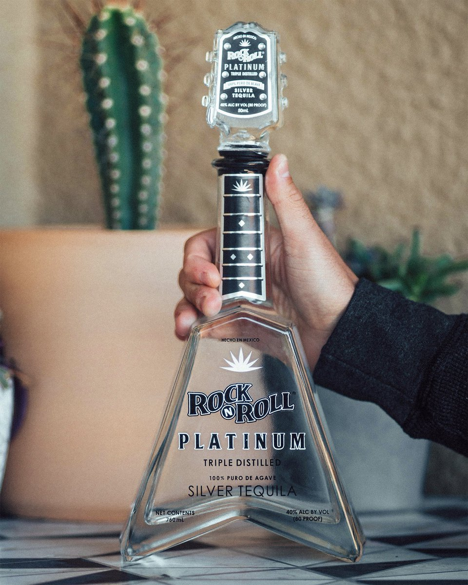 The bottle you can't ignore.   #RockNRoll #Tequila https://t.co/BDopuJHdvd