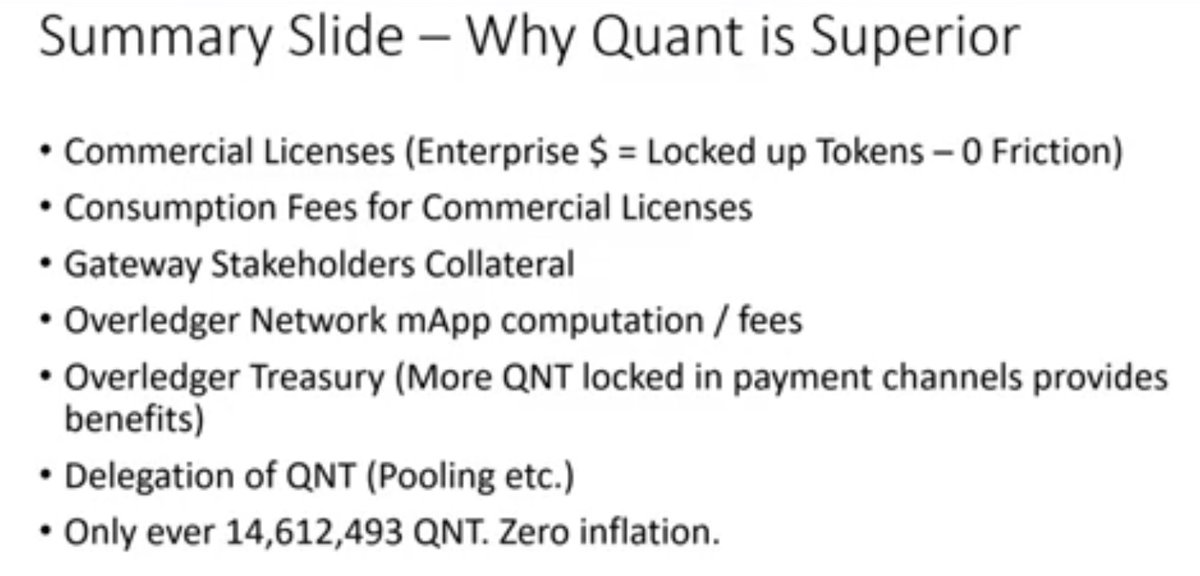 $QNT. That's the tweet. This is it. #itsallreal #ETH #ZIL #ADA #BTC #LINK