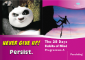 Never give up!  This little book is designed to help students have fun and learn more about Persisting. There is a check box for each activity and stickers to remind the student of the Habit. A great way to reinforce using the #HabitsOfMind. https://t.co/Gy3VC37rmU #education https://t.co/dqDqU4VY8f