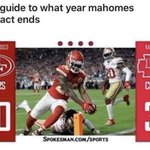 Image for the Tweet beginning: Hey guys, is the Mahomes