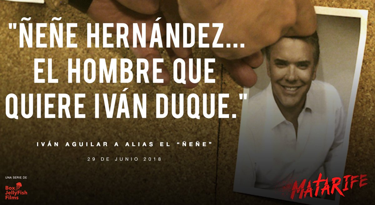 RT @matarifeco: https://t.co/3HQ2McwDtn @IvanDuque #LaSerieMatarifeEs https://t.co/zWAkZq9cEk