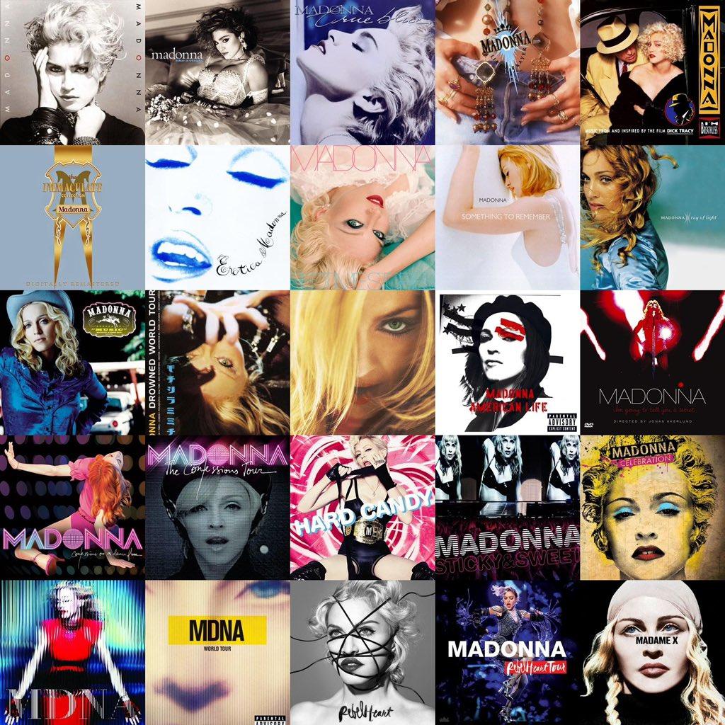 Bibles of pop music! #Madonna #QueenOfPop #Legend #Icon #Iconic #BitchShesMadonna #PopIcon #Queen #PopMusic #Pop #Legacy #MadameX #Reinvention #Revolution #ReinventYourself #ExpressYourself #QueenMadonna #Madge #MDNA #MadonnaCollection #ImmaculateCollection #MadonnaFamily https://t.co/pxdsp7kKYB