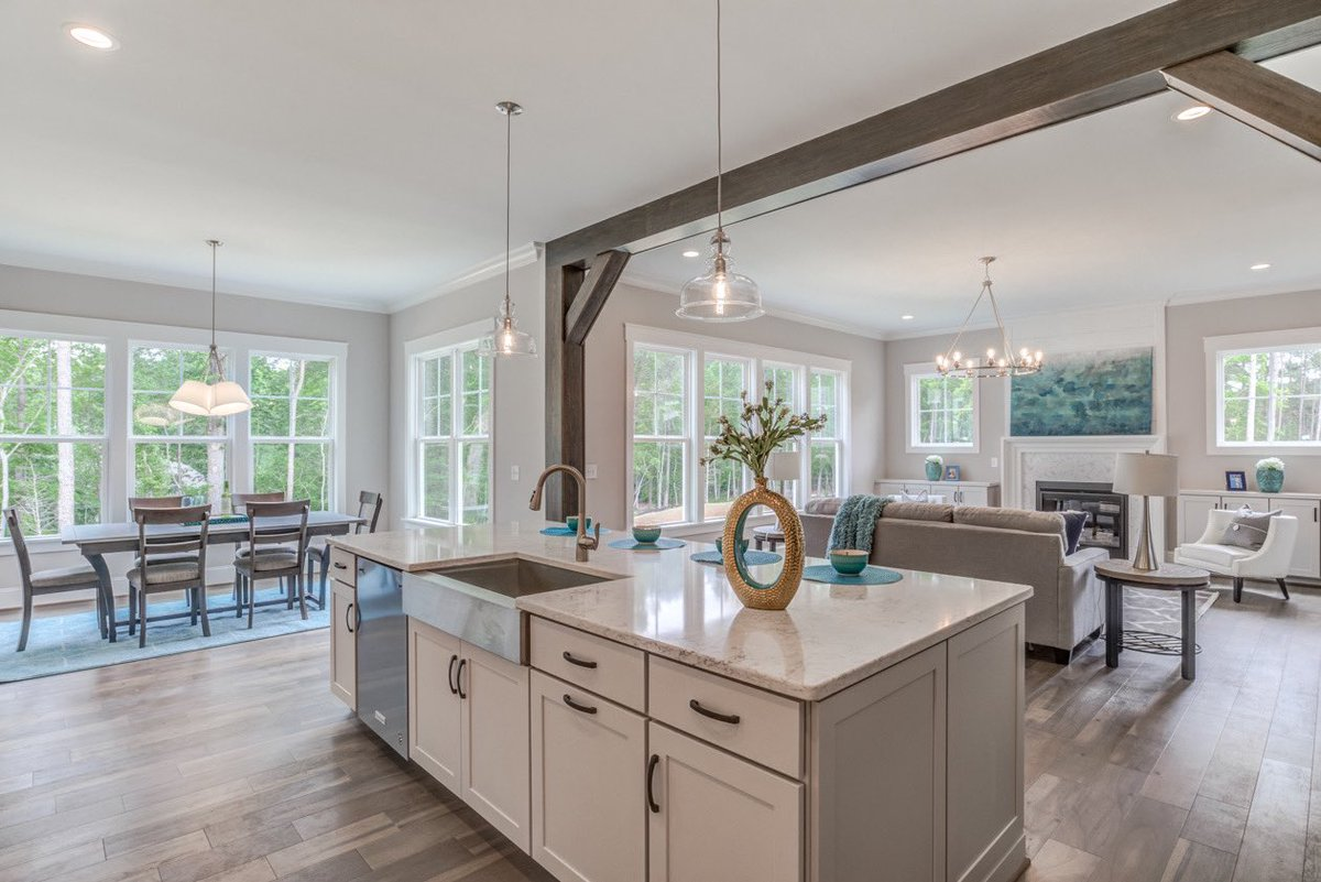 6108 Norwood Place Court is a must-see! Visit us in North Raleigh's Norwood Place for a look at this beauty. For sales information, call ICG Home today! (919) 876-5802 . . . #icghomes #raleighnc #durhamnc #wakeforestnc #nc #realestate #newhome #kitchen #kitchengoals