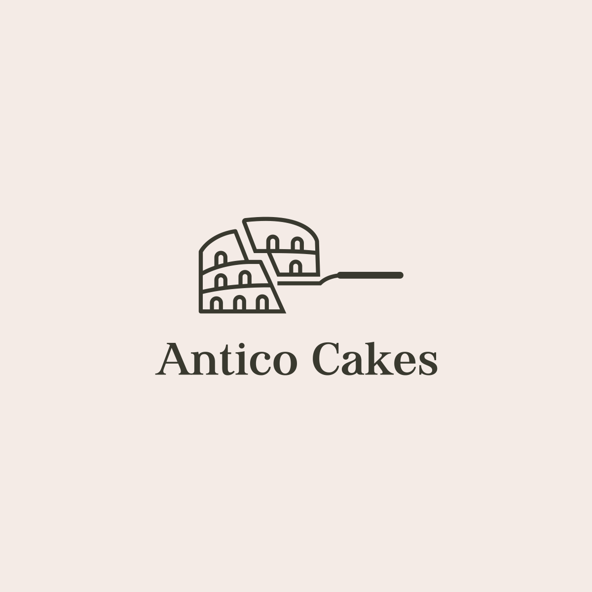 Logo for Antico Cakes 🇮🇹 .  If you're looking for logo design. ↳ ramin@nasibov.me https://t.co/0J7Yag93Uk