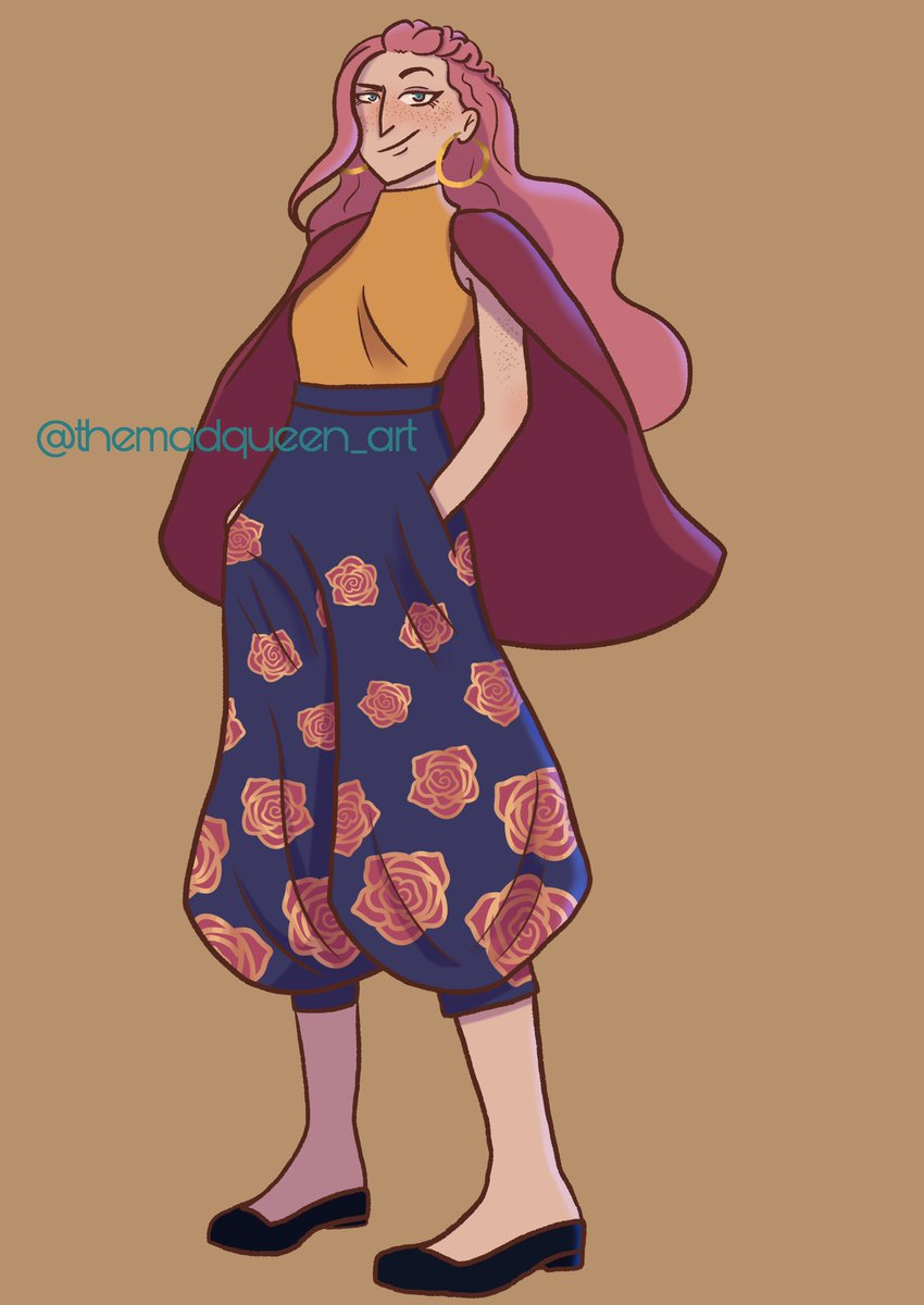 My #thearcana apprentice: Lyra!  I've been wanting to redesign her for quite some time as I wasn't completely sure about her first design (mostly her outfit) and I finally got to it!  #TheArcanaGame #thearcanaapprentice #myartpic.twitter.com/3N8E2eZFsy