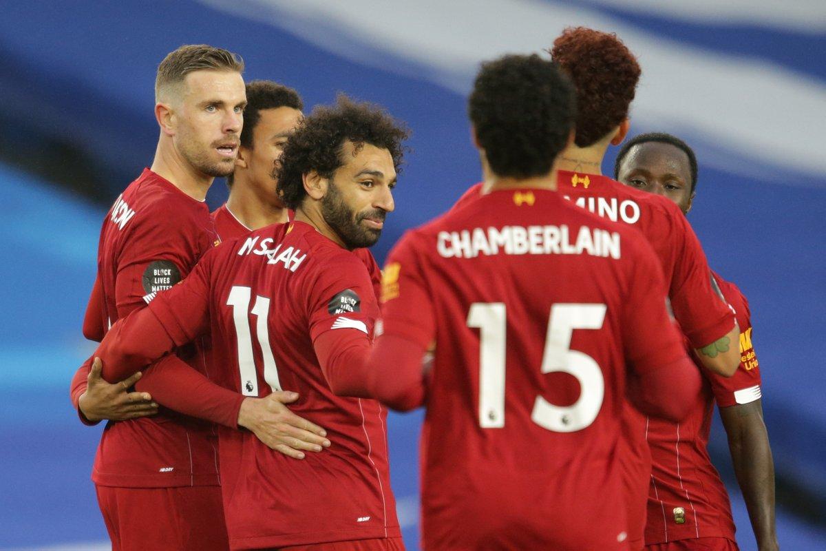 ليفربول يحقق فوزا مستحقا امام برايتون بقياد موصلاح