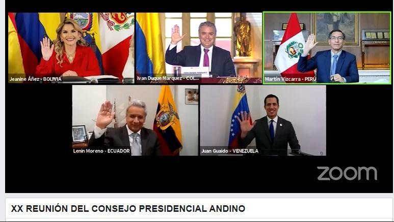 Con mi participación en la XX Reunión del Consejo Presidencial Andino, damos los pasos para la reincorporación de Venezuela a la @ComunidadAndina.   El que haya consenso sobre el regreso de nuestro país es favorable para los venezolanos, la integración y la democracia. https://t.co/hi4ZrCb1WK