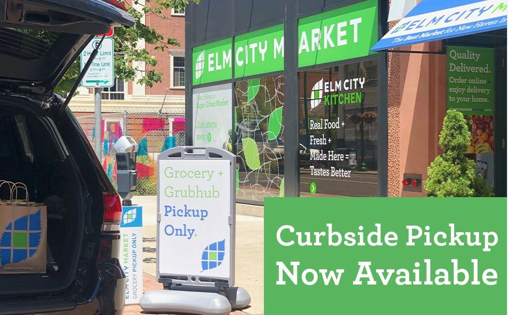 The weekend is approaching. Order your groceries online + pick them up on your way home! #ElmCityMarket #ECMDelivers #CurbsidePickUp #Curbside