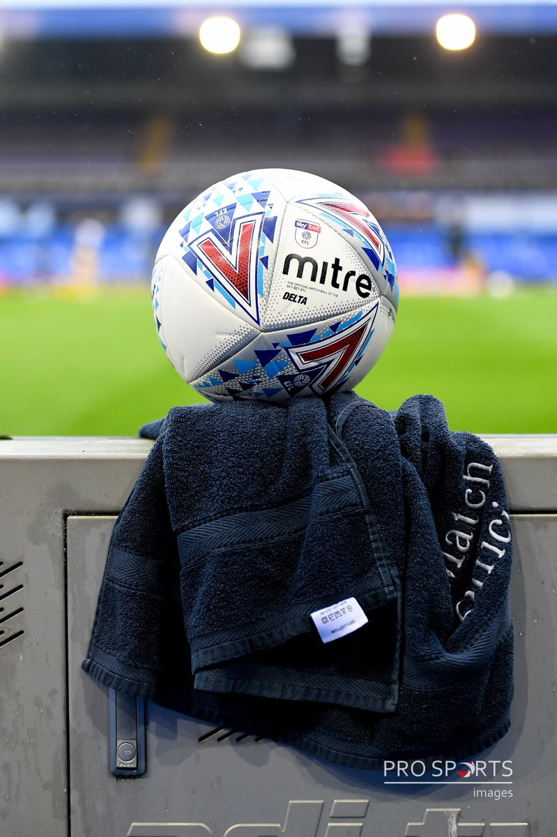 The new normal ⚽️ A @MitreSports #mitredelta @SkyBetChamp matchball sits on a towel after disinfection @BCFC v @SwansOfficial @ProSportsImages @NikonProEurope #mitre #Nikon https://t.co/RVNVVHJgj8