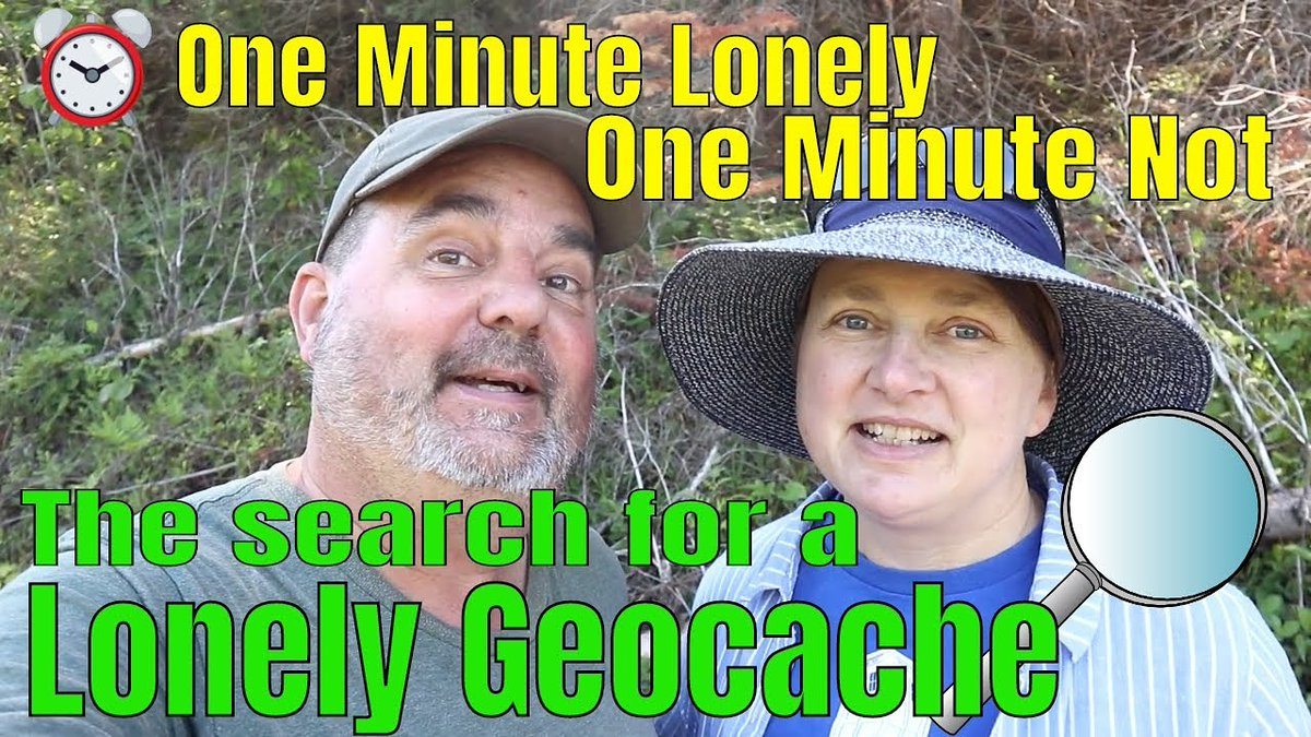It's not lonely anymore  https://t.co/OQ9T9cFeLc Watch ☝️Now  #geocaching #CacheCanada #gogeocaching #fun #adventure @GoGeocaching https://t.co/OS8mT9vxxA