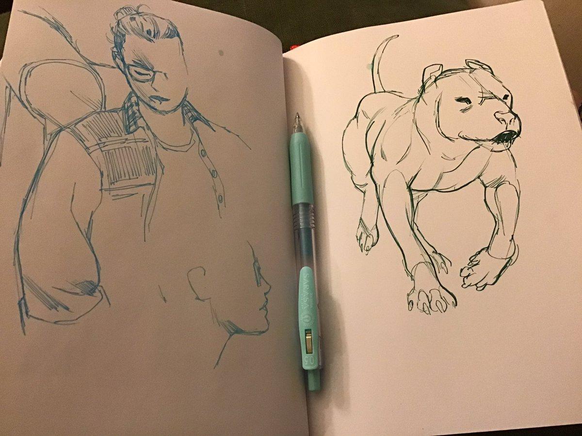 Some end-of-night sketching. #zebraambassador #sketching #zebrapens