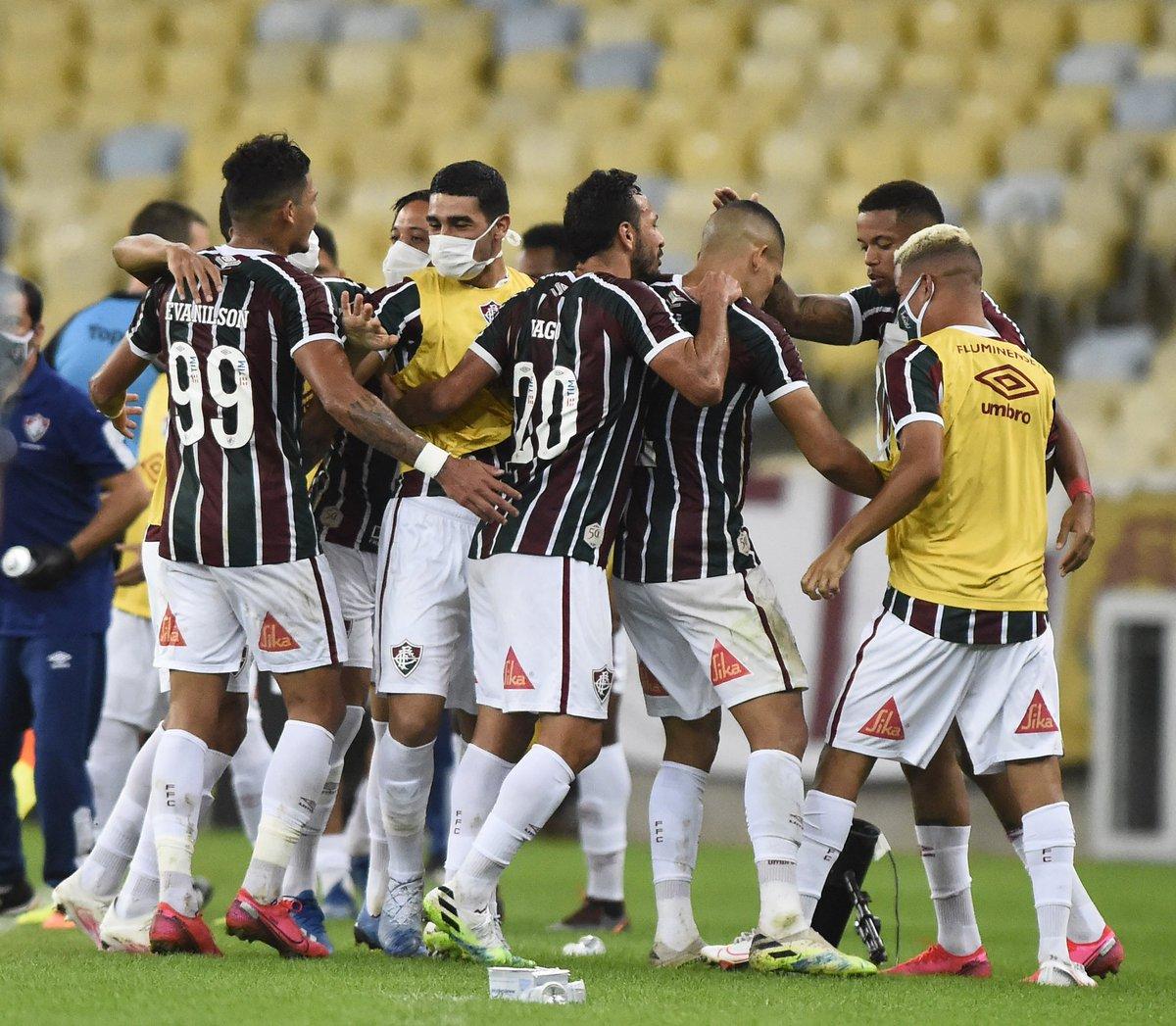 Nos pênaltis, o Fluminense vence o Flamengo e conquista a Taça Rio 2020! https://t.co/AgZAKb19yC