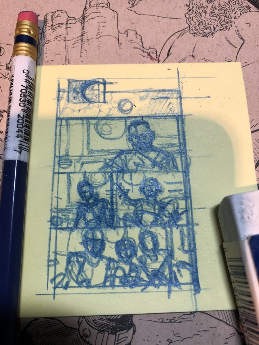 Post it note layouts