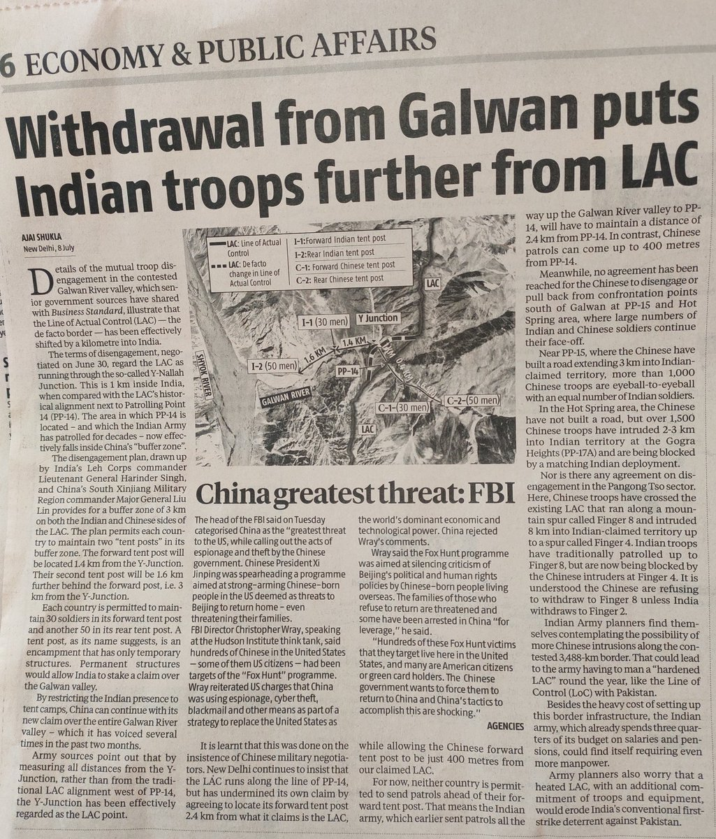 If you believe our visual media, India and the key negotiator has scored a big victory forcing China to withdraw. But reality seems to be different https://t.co/NvxqBbFb42