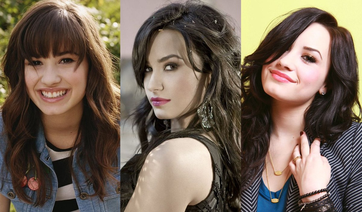 demi lovato through the years <br>http://pic.twitter.com/ZggBrSjdVG