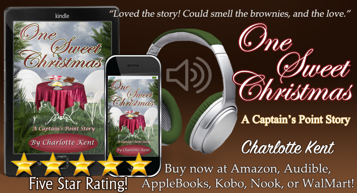 NOW in Audio! One Sweet Christmas written by me as @CharlotteKent20 and narrated by @JulieBealVO  and  or  #Christmas #Romance #BookBoost #TW4RW #SNRTG #RomHero #IARTG #authorRT :-)
