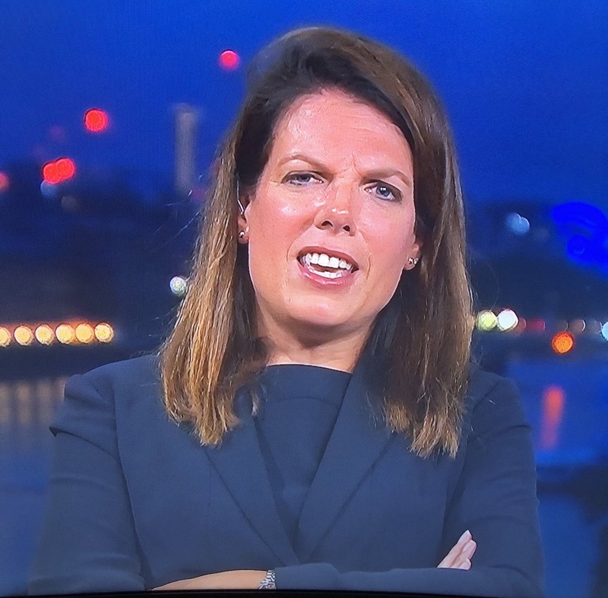 Caroline Nokes with the perpetual *this is all a bit beneath me* posture #Peston #Newsnight