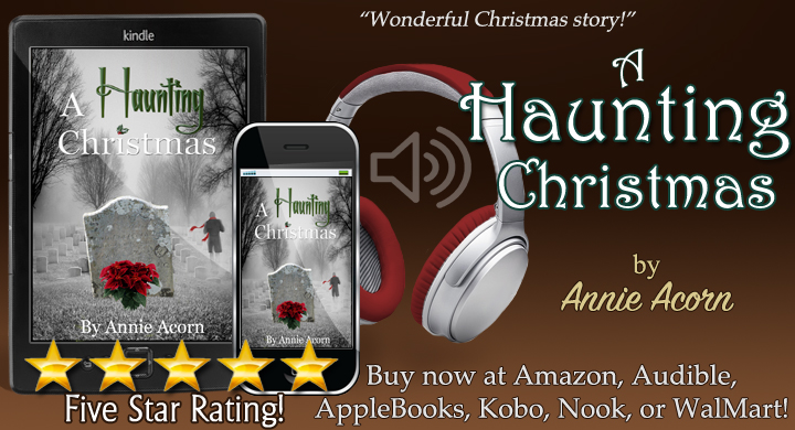 NOW in Audio! A Haunting Christmas by me and narrated by @JulieBealVO  or  and  #Christmas #Family #SecondChances #audiobook #iTunes #Kobo #Nook #Audible #BookBoost #IARTG #TW4RW #authorRT :-)