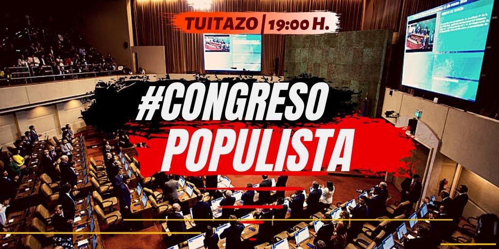 RT @TanaBorsottob: Los esperamos hoy a las19:00 hr, todos tuiteando #CongresoPopulista  🇨🇱🇨🇱🇨🇱🇨🇱🇨🇱🇨🇱🇨🇱 https://t.co/wECkeC1ntt