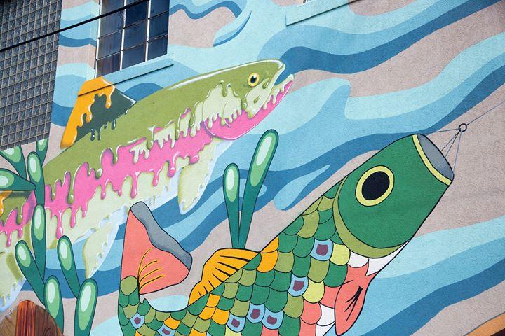 Get hooked on the Laramie Mural Project. https://bit.ly/2O9OMZb #VisitLaramie #ThatsWY #urbanart #publicartpic.twitter.com/QrOI9Ol0PU