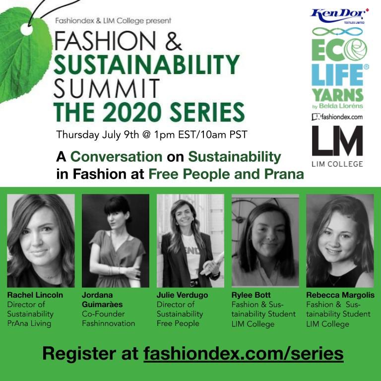 Our Summit Series begins tomorrow!  Tune in tomorrow at 1 pm for A Conversation on Sustainability in Fashion at Free People and Prana, link here for registration: https://t.co/0XQVZRLVIF 🌱🌞🌿🌻 . . . . #fashiondex #sustainability #sustainablefashion #summit #limcollege #sustain https://t.co/upfo9azeli