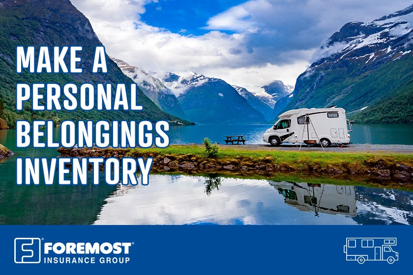 Are you prepared for a flood, fire or burglary in your RV? These aren't pleasant surprises, but they can happen. Creating a list with your personal belongings will make the claims filing process much easier. #TravelTips https://t.co/i4fSoLVq0E