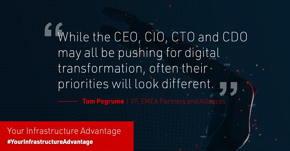 Tom Pegrume with insights on how your data infrastructure solution is the foundation for #digitaltransformation success: https://t.co/qRN6MBhFvf #YourInfrastructureAdvantage https://t.co/lMFU9TL1to