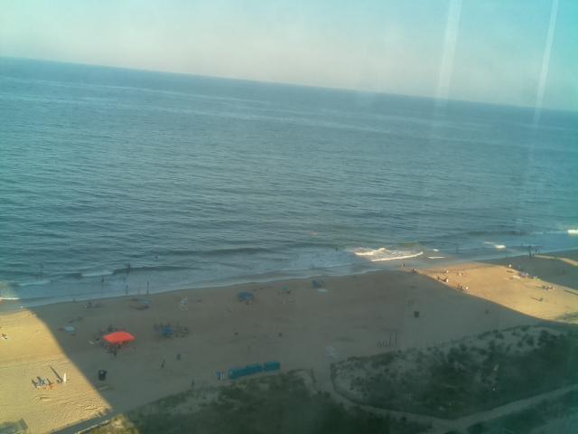 Ocean City, MD  07-08-20  19:00 ET  Air Temp: 80.1 F    Humidity: 83%    Pressure: 29.99 mbar Water Temp: 79.0 F Wind: 3.89 mph SE    Gust: 6.41 mph Current Conditions: clear sky  Sunrise: 05:44 Sunset: 20:26  #OCMD #OceanCity #OceanCityMaryland #beachlife #beach #BeachUpdates