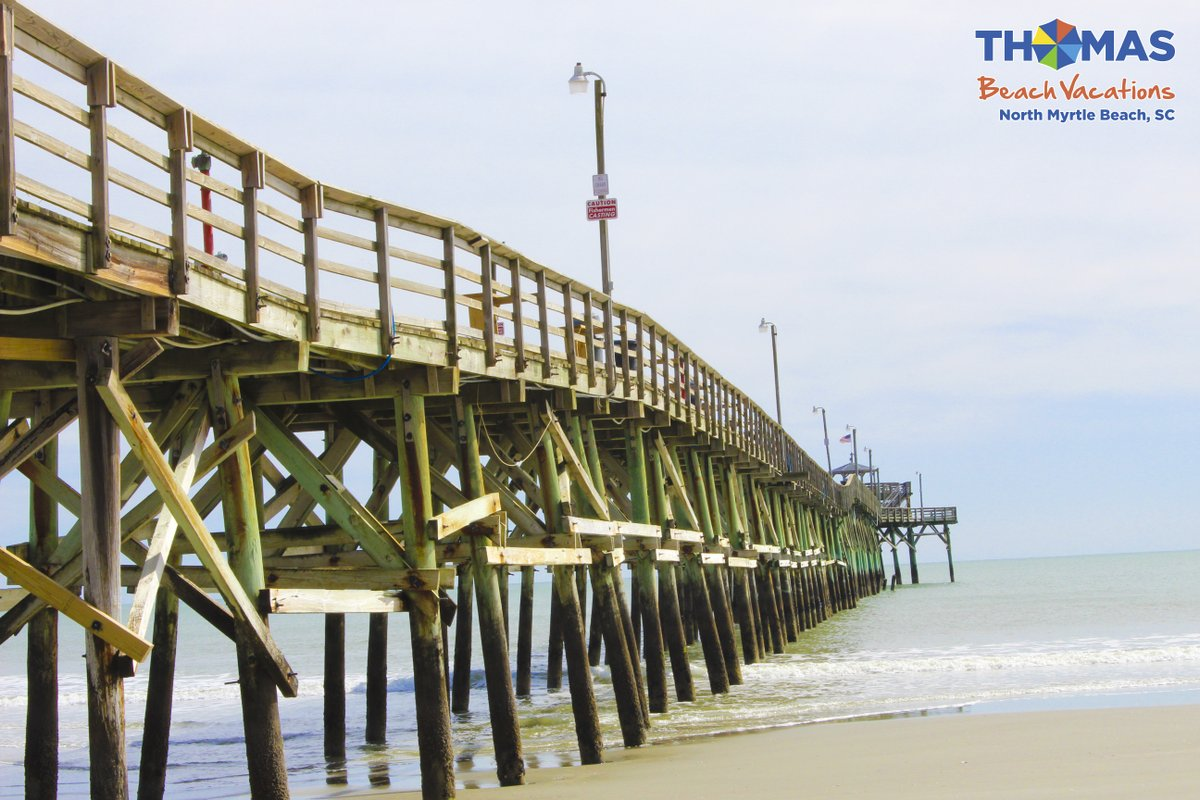Have you caught a fish from the Cherry Grove pier yet? Book your beach vacation NOW and save up to 45%   #beach #fun #northmyrtlebeach #myrtlebeach #grandstrand #vacation #sand #ocean #sea #beachlife