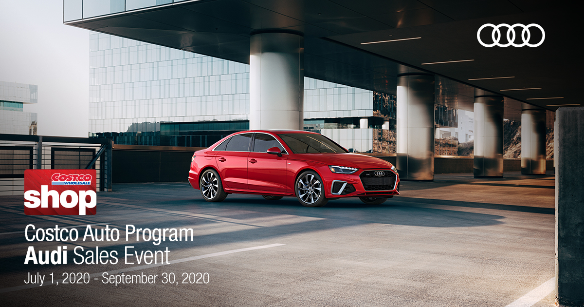 Costco members: Combine Audi employee pricing and available Audi incentives you qualify to receive on the purchase of a select, new Audi vehicle. See available models. https://t.co/mExS5p7d13 #CostcoAutoProgram #LimitedTimeSpecial #Audi https://t.co/1ko1GxCnyk