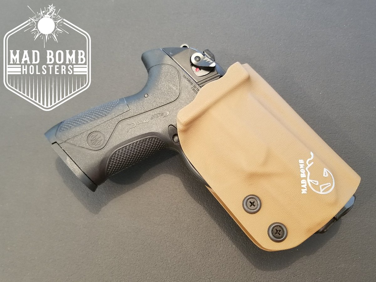 "Simple TNT range holster for Beretta PX4 Storm - .08 Coyote Brown Kydex - Adjustable Retention and Cant - 1.75"" Belt Clip #customkydex #customkydexholsters #kydexholster #kydex #kydexbender #kydexforger #holsterbuilder #holster #kydexlife #owbholster #owb #madbombholsterspic.twitter.com/vXU1CHPh5A"