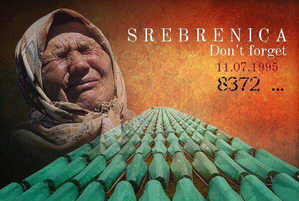 Don't forget the #Srebrenica genocide! Mainly men and boys, were killed by the Serb Army in July of 1995. #Bosniapic.twitter.com/nr1nfd0UB6