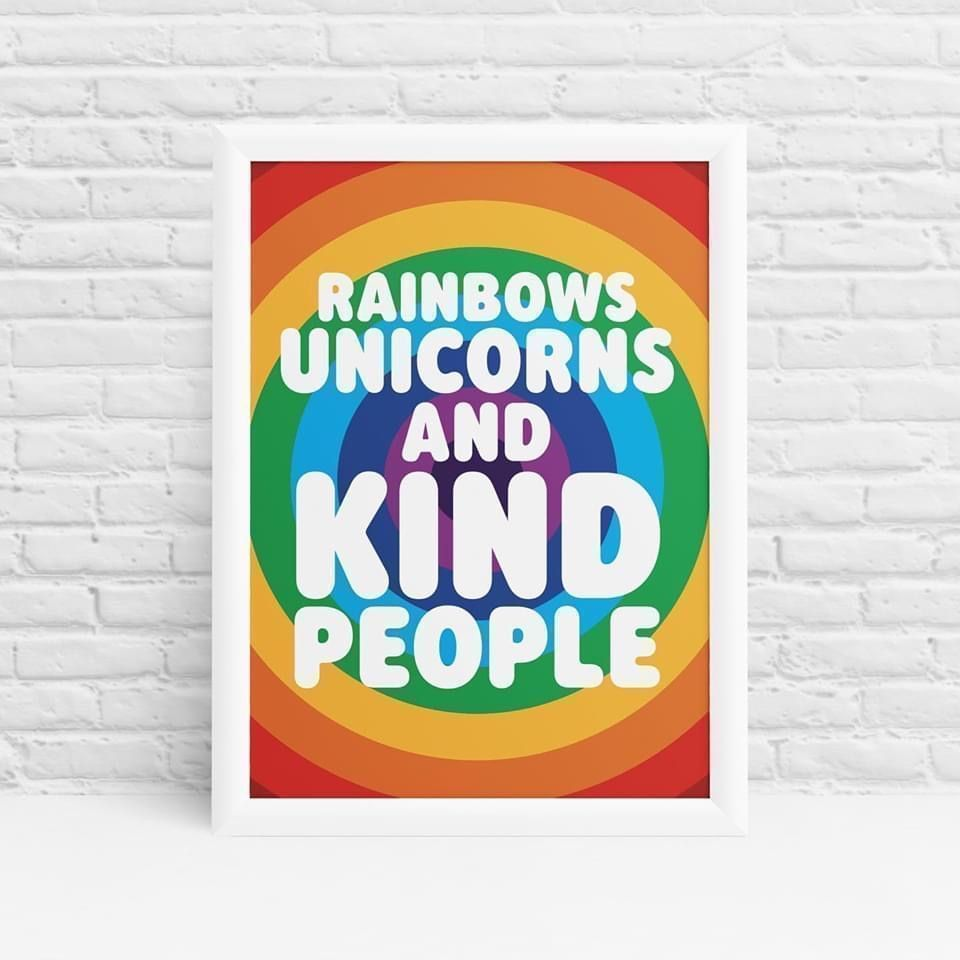 #Rainbows 🌈 #unicorns 🦄and #kind people 🤗    #mindfulness #meditation #yoga #love #selfcare #selflove #wellness #motivation #mindset #inspiration #follotrick #health #happiness #life #peace #gratitude #positivevibes #nature #wellbeing #mindful