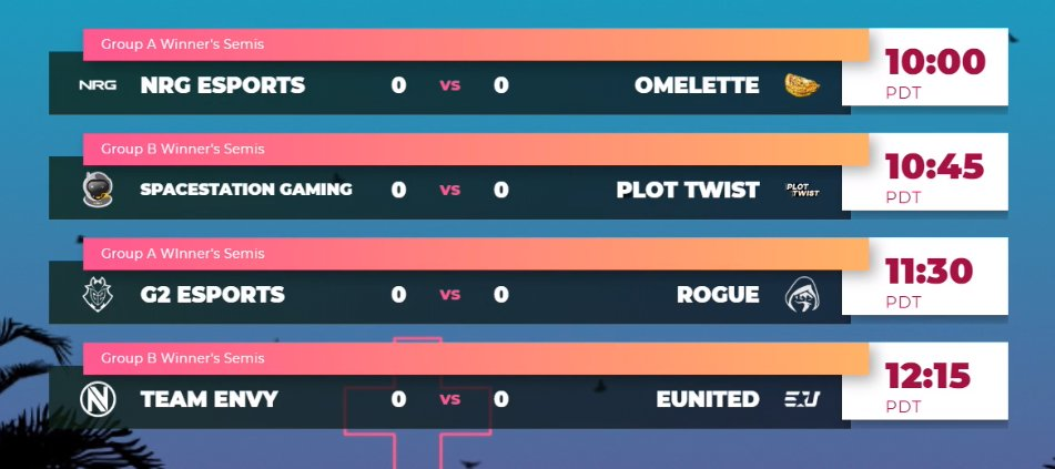 With closed qualifiers over its time to move onto the group stages in the #SummerShuffle! Here is a sneak peak of what matches we have in store for you all tomorrow 🥳 📺 twitch.tv/btsrocketleague