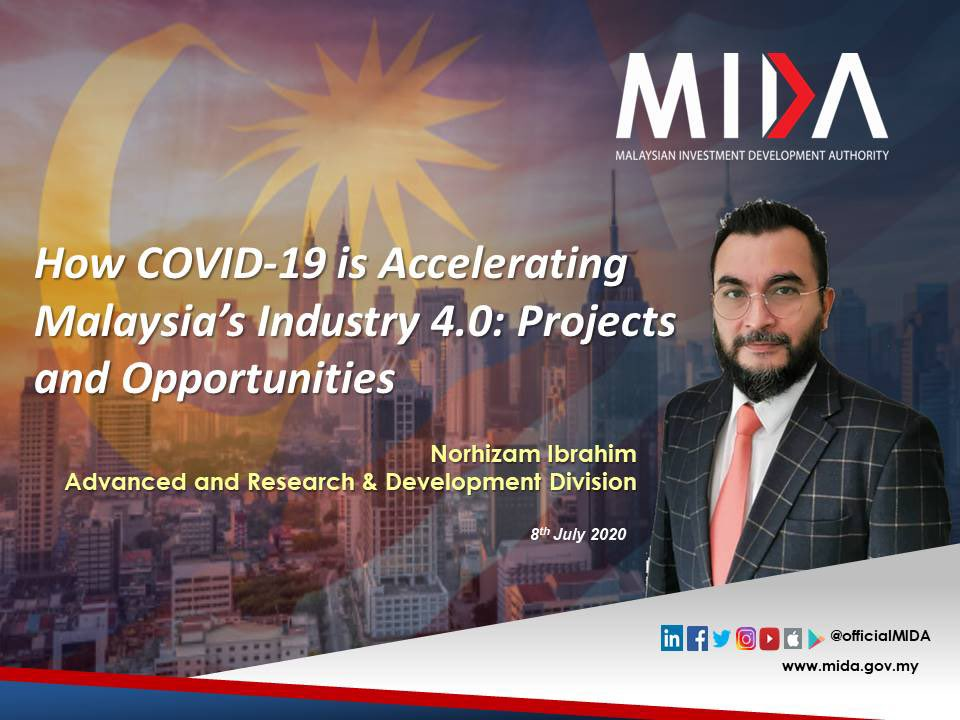 COVID19 pandemic has hit the global economy. However, it has also taught us that digitalisation is no longer an option but essential for companies & even individuals to stay ahead of the game. @OfficialMIDA shared some insights on how #COVID19 accelerates 🇲🇾's #IR4. https://t.co/NwCT1VmdPn