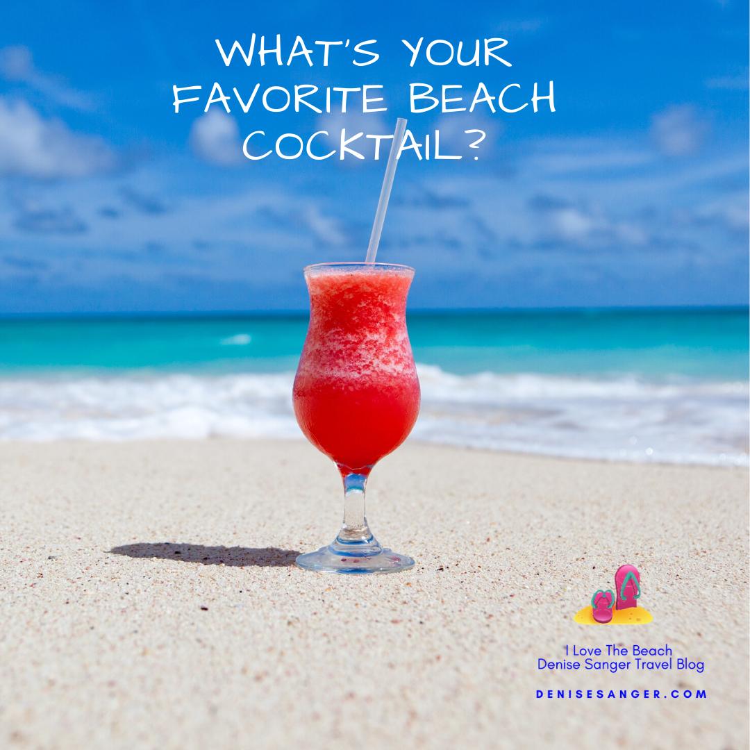 Favorite cocktail? GO! #beach #travel #cocktails
