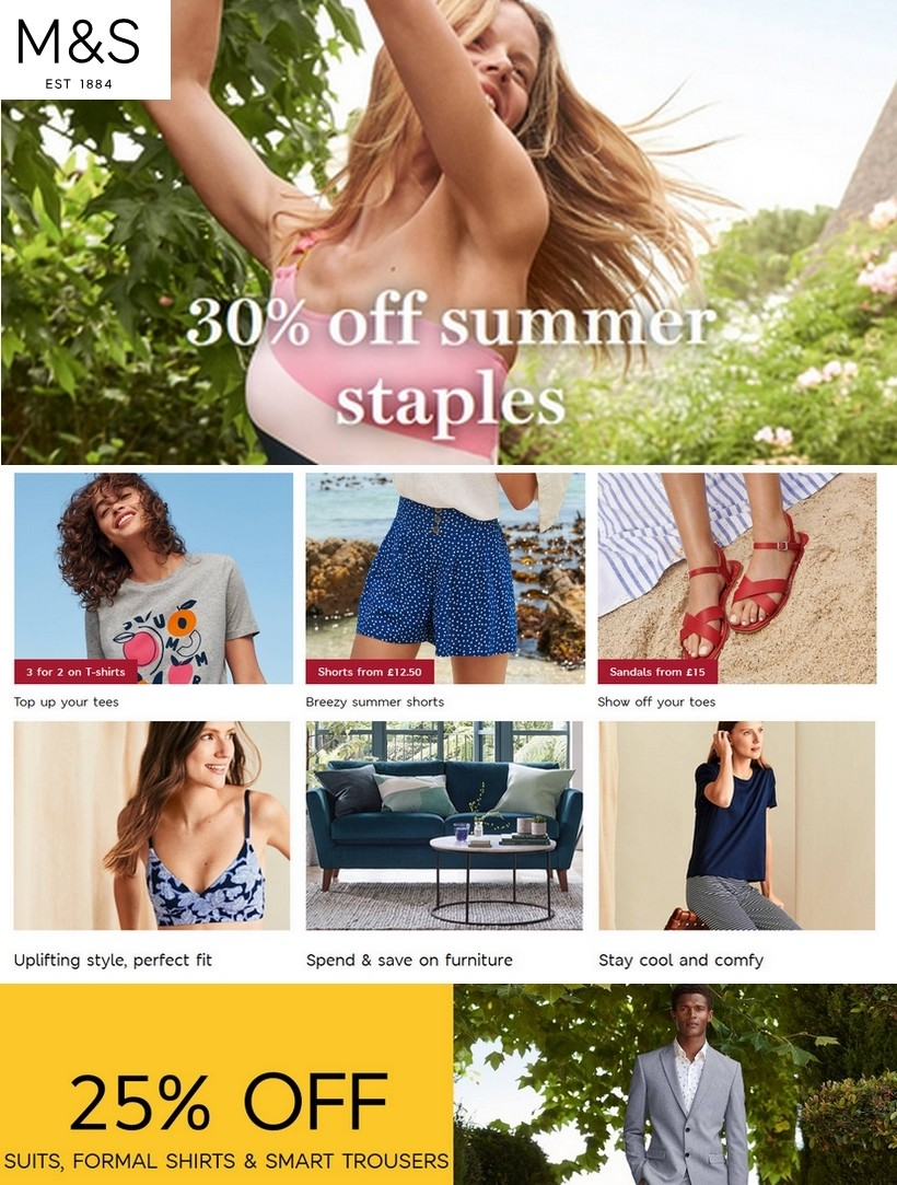 Marks and Spencer Sale 8 July 2020    #ms #marksandspencer #summer #beach #clothes #fashion #style #clothing #outfit #love #shopping #fashionista #shoes #dress #instafashion #fashionblogger #moda #clothingbrand #outfitoftheday #model #like #onlineshopping