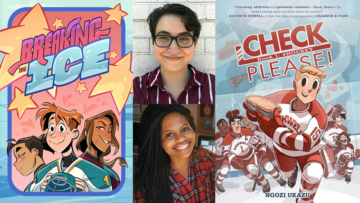Meet @ngoziu & @pichikui - two women who are growing the game for those who feel less included through their hockey comics, Check Please! & Breaking the Ice. Reading Between the Lines, a @USAHMagazine feature → bit.ly/2CLE3Sr #HockeyIsForEveryone