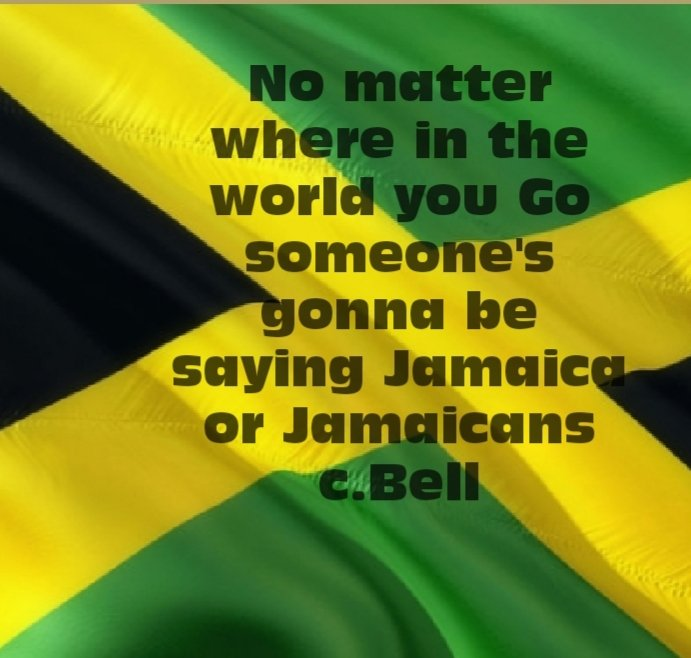 There is something about Jamaicans and Jamaica! # #Jamaica  #yardie #onelovepic.twitter.com/2ZjsSu82YI