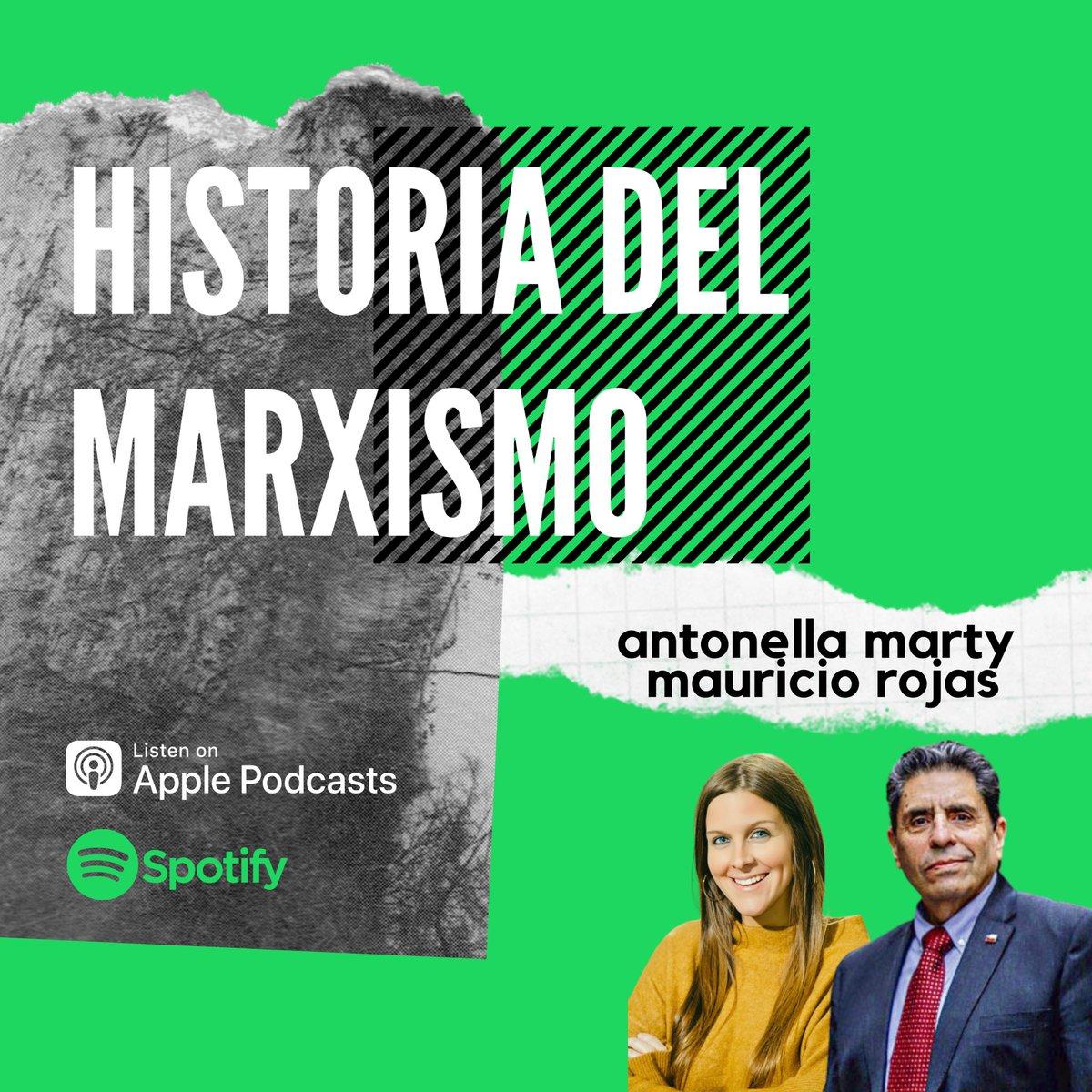 Los invito a escuchar este nuevo podcast que grabamos con @MauricioRojasmr sobre la historia del marxismo: conceptos, teoría y práctica. Imperdible. ¡Gracias, Mauricio, por estos 35 minutos de repaso!  Link: https://t.co/oL06mmLkRU  #comunismo #marxismo #marx #engels https://t.co/SLVYv0aSXF