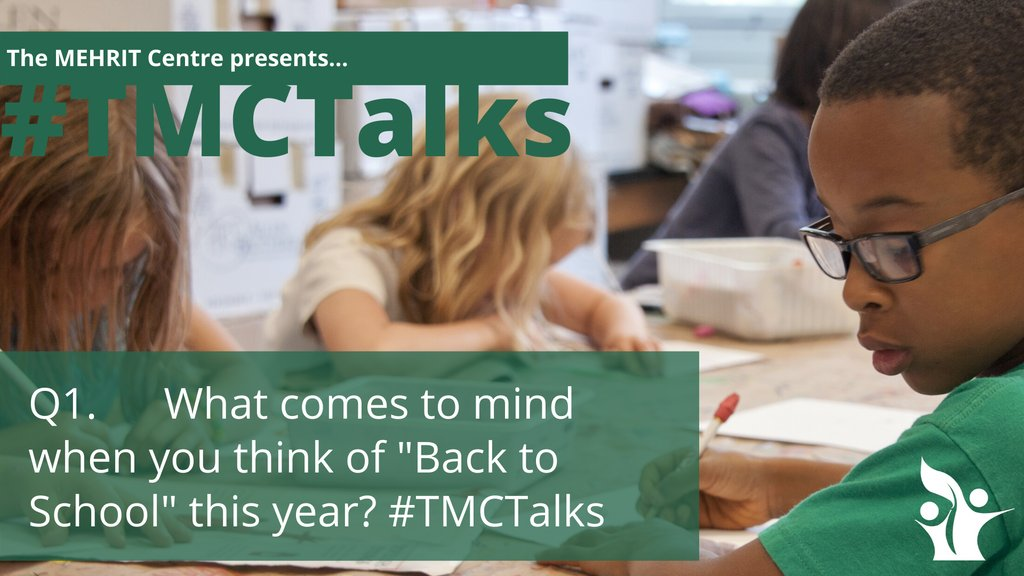"""StuartShanker: RT susanhopkins5: Q1. What comes to mind when you think of """"Back to School"""" this year? #TMCTalks #SelfReg #backtoschool pic.twitter.com/qM3fthKX3i"""