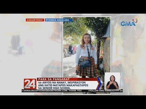 VIDEO: 44-anyos na nanay, inspirasyon ang hatid matapos makapagtapos sa senior high school https://t.co/u3pVVHm5pO https://t.co/5TV7zgxKIL