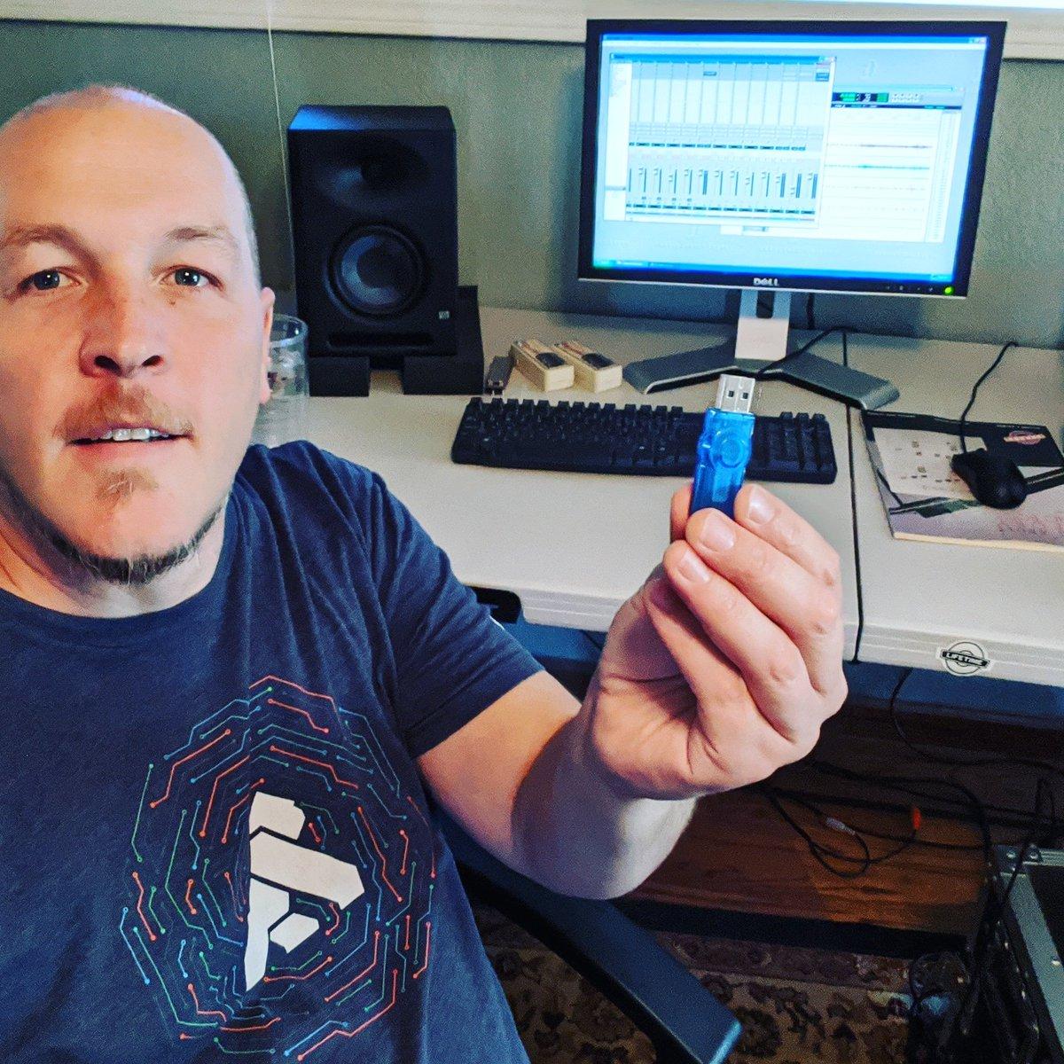 "Got my friend Brock's tracks, ready to dump into DAW for ""Postal Service"" #recordingstudio #homestudiopic.twitter.com/eKjt4AwjQN"