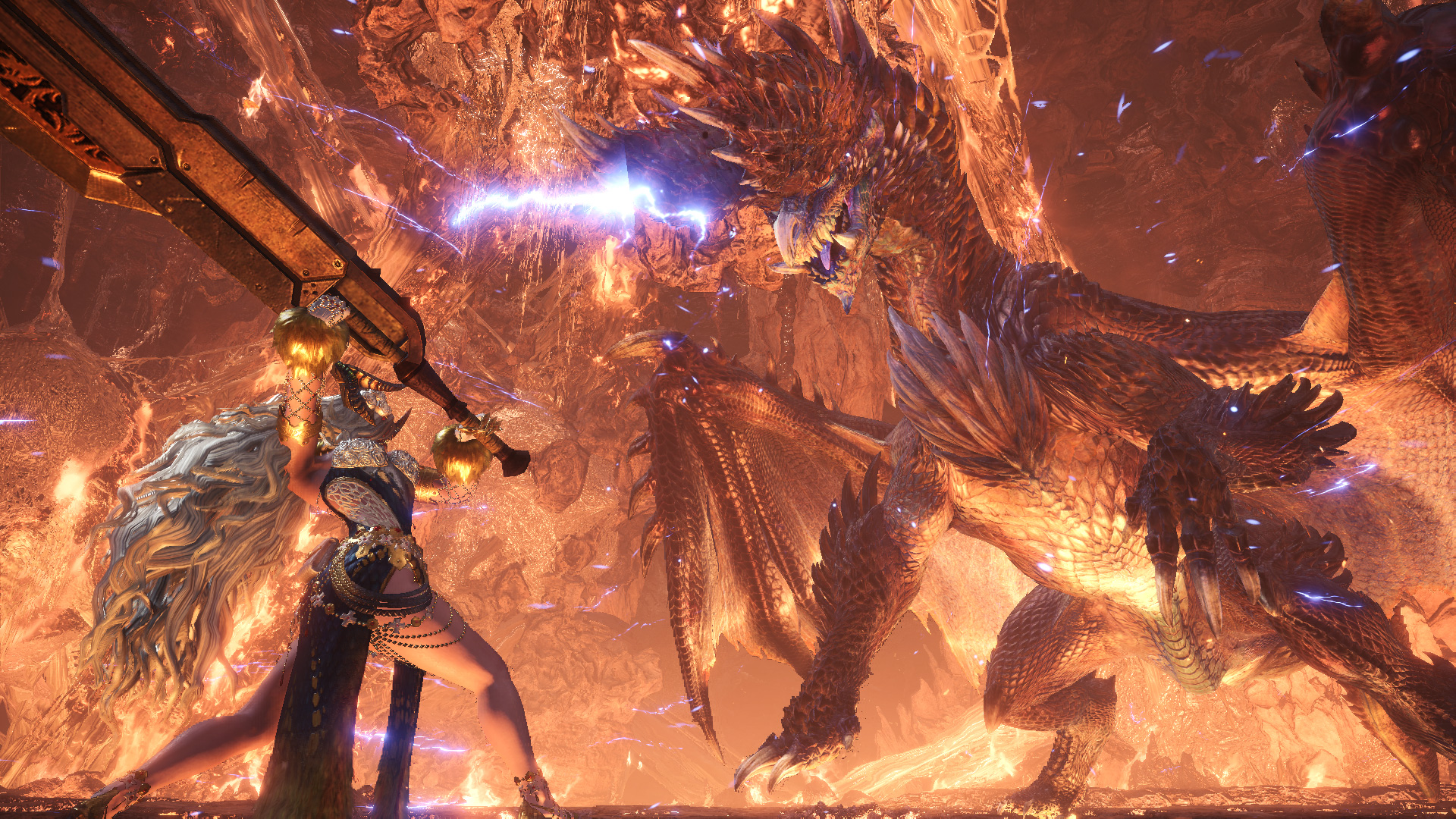 Monster Hunter On Twitter Face The Brilliant Darkness Of