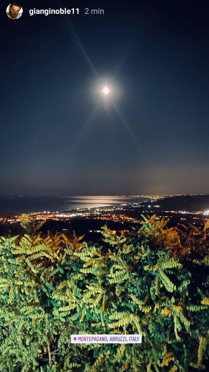 Bellissima Luna 😍🌕 #gianginoble11 #gianlucaginoble #ggmessage #ilvolo #ilvolomusic #abruzzoprince  #montepagano #abruzzi #Italy  #Repost @GianGinoble #InstagramStories https://t.co/xAtARrtIVS